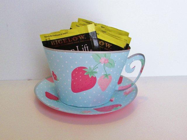 Mother's Day 3-D Tea Cup w/tea bags