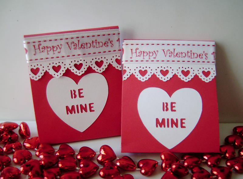 Be Mine Matchbook Valentines