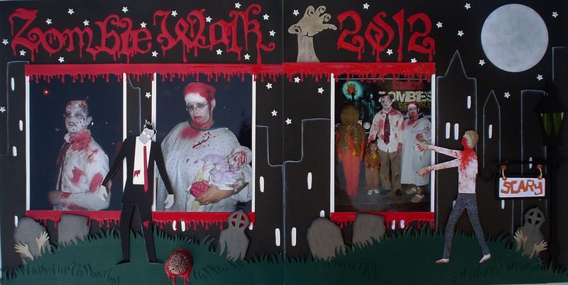 Zombie Walk 2012 2 page layout