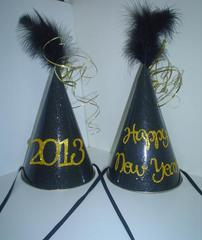 Happy New Year 2013 Party Hats