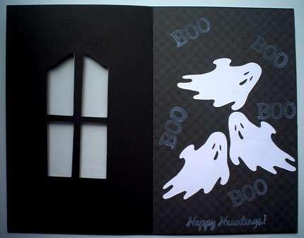 (inside) Haunted Window card