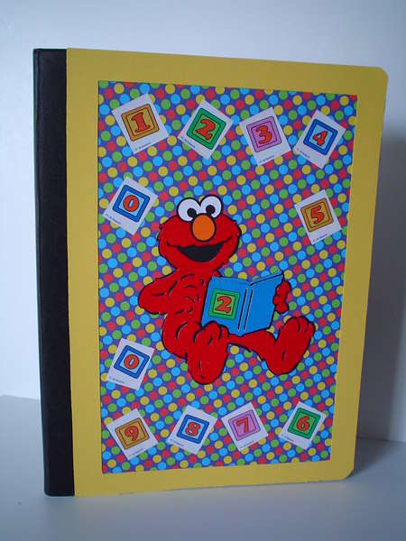 Elmo Altered Composition Book