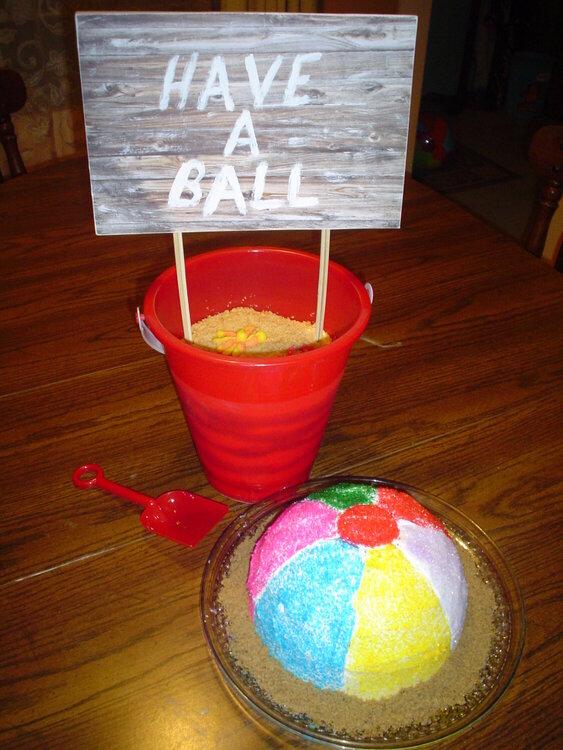 Have a Ball - Beach Birthday Celebration