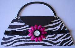 Zebra Purse card