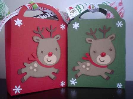Rudolph Treat Bag/Ornament/Gift Card Holder