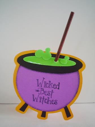 Wicked Best Witches Treat Holder