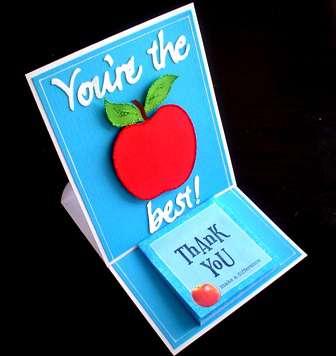 You're the Best! Teacher Appreciation card