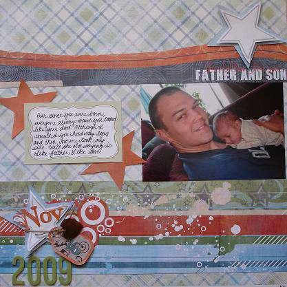 Like Father Like Son - Scrappy Jo's