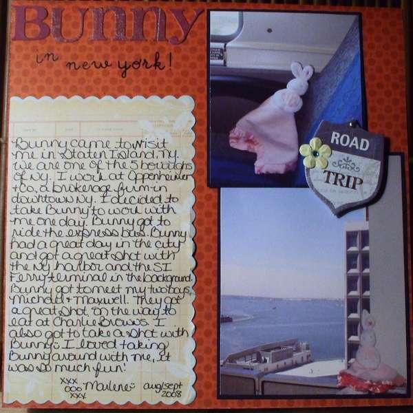 Bunny in New York! pg 1