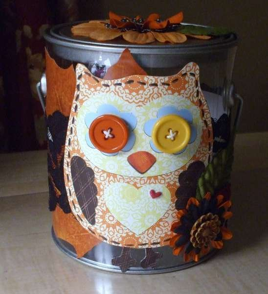 My own altered pail