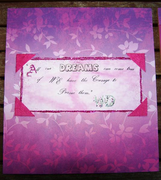 Pursue our Dreams - Wall square 2