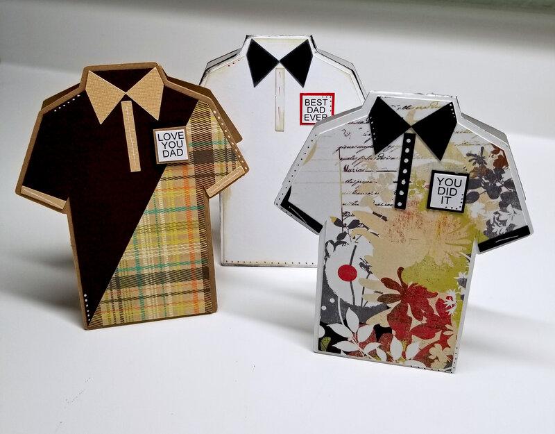 Polo Shirt Shaped Card