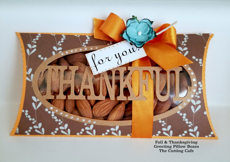 Thankful and Family Pillow Boxes