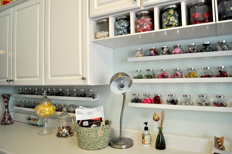 Craft room jars