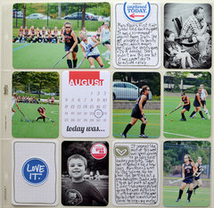 Project Life Field Hockey Page