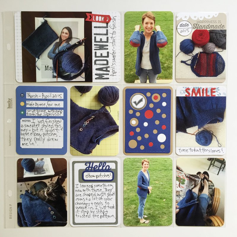 Madewell Pocket Page layout