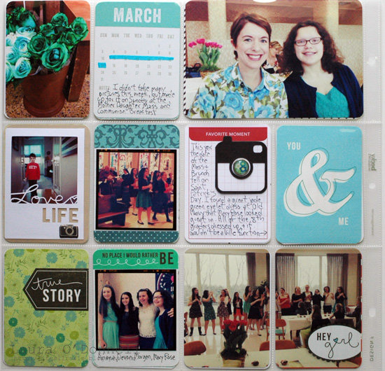 Project Life Week 11 (2013)