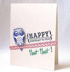 Happy Birthday Hoot Hoot!