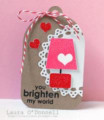 you brighten my world