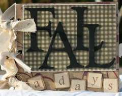 Fall a days mini album - Rusty Pickle DT creation