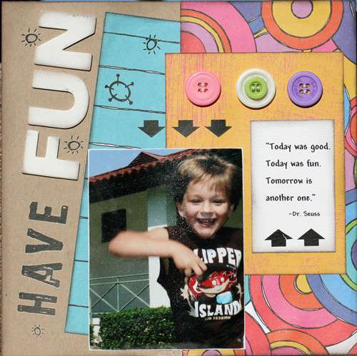 Have Fun.. Rusty Pickle CT Layout
