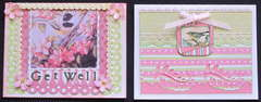 Pink & Green Cards