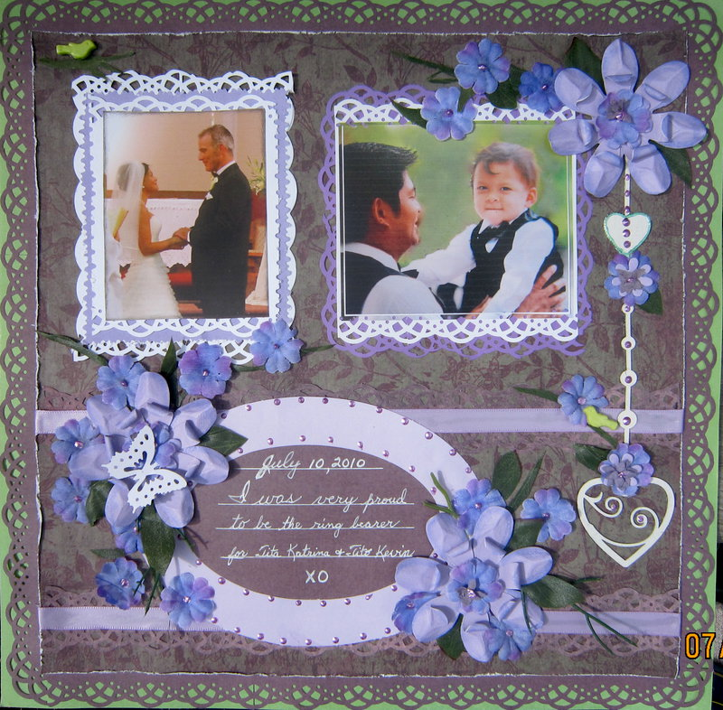 Wedded Bliss - for Hayden