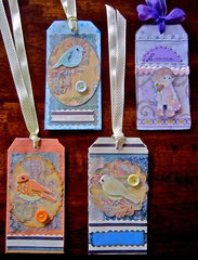 Tags for Tots x 4
