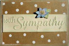 Sympathy - polka dot