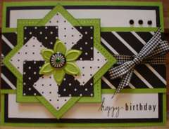 Black, White and Green B-day