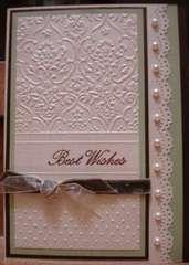 Cuttlebug Best Wishes