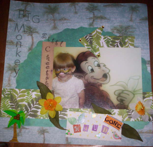GONE WILD January Scraplifting 101 Challenge