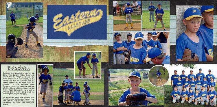 Eastern Allstars Baseball