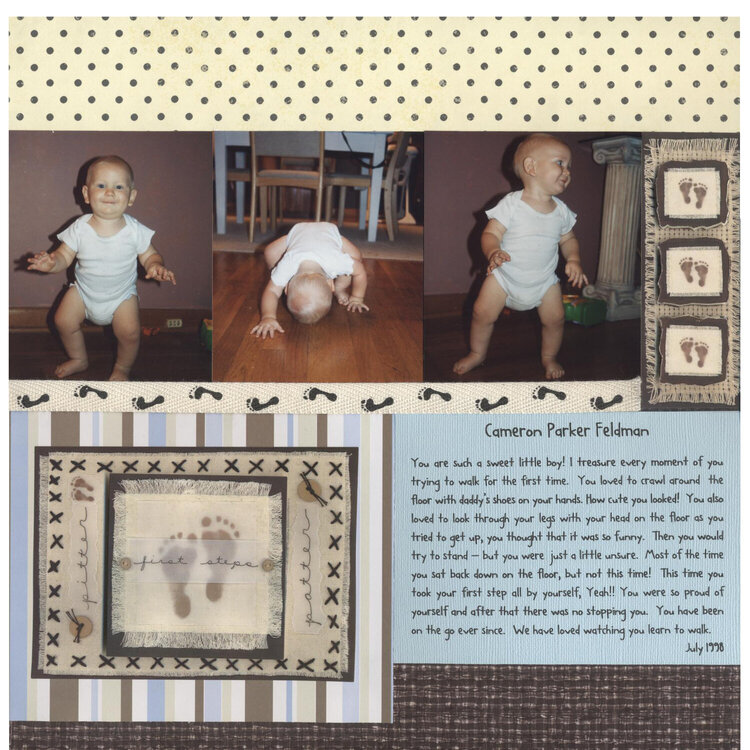 Camerons First Steps Page 2