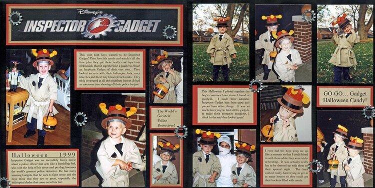 Inspector Gadget Halloween