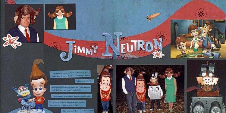 Jimmy Neutron Halloween