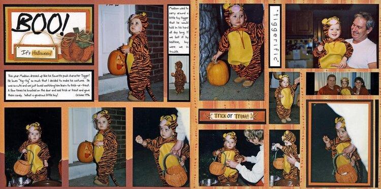 Madison's Second Halloween