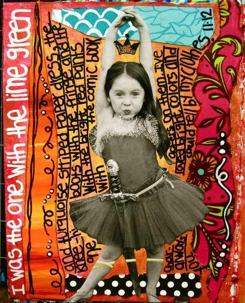 Art Journal Class - November 12th Page
