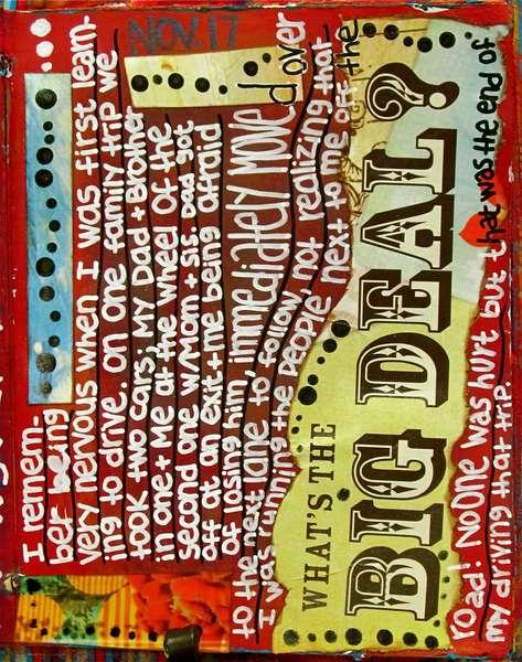 Art Journal Class - November 17th Page...