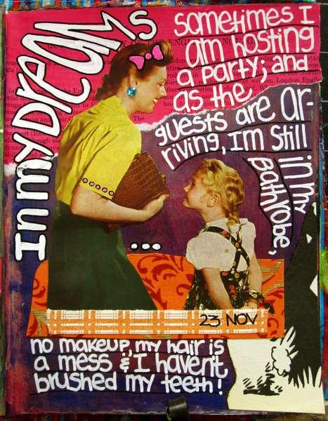 Art Journal Class - November 23rd Page