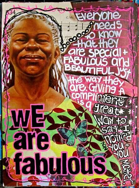 Art Journal Class - November 26th Page