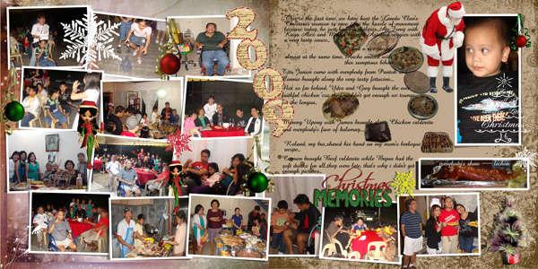 2009 christmas memories