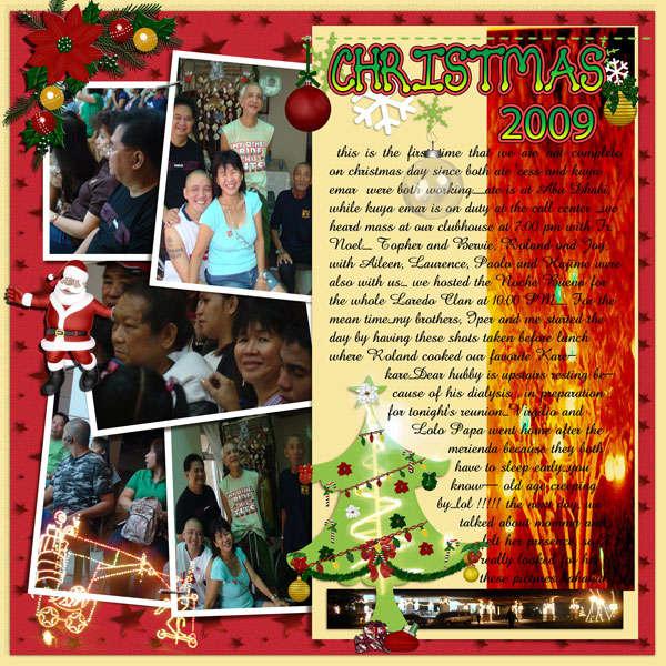 Christmas 2009 - Fausto family