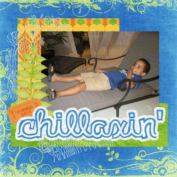 chillaxin'