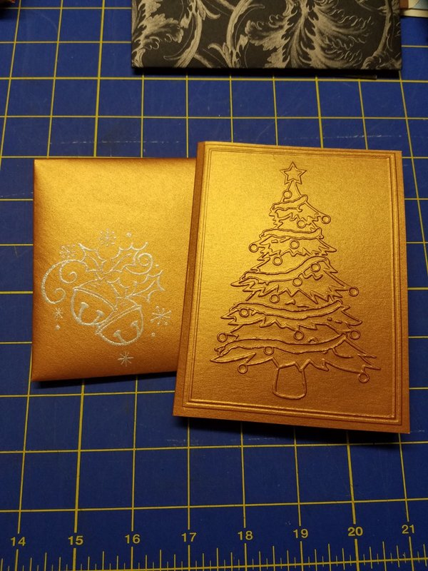 Christmas card & envi