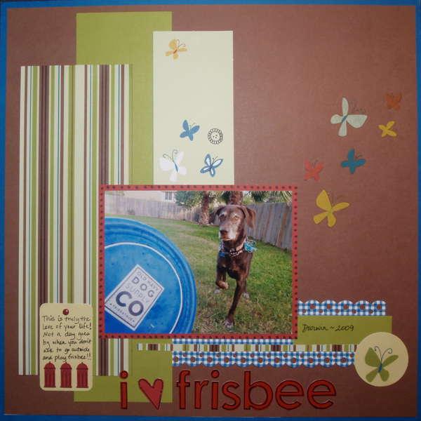 I {Heart} Frisbee