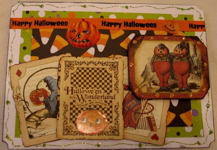Halloween card #7