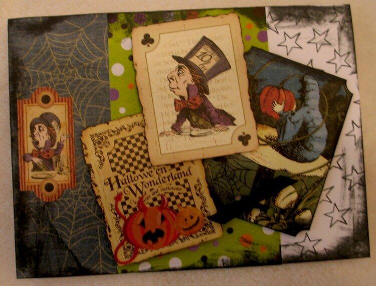 Halloween card #8