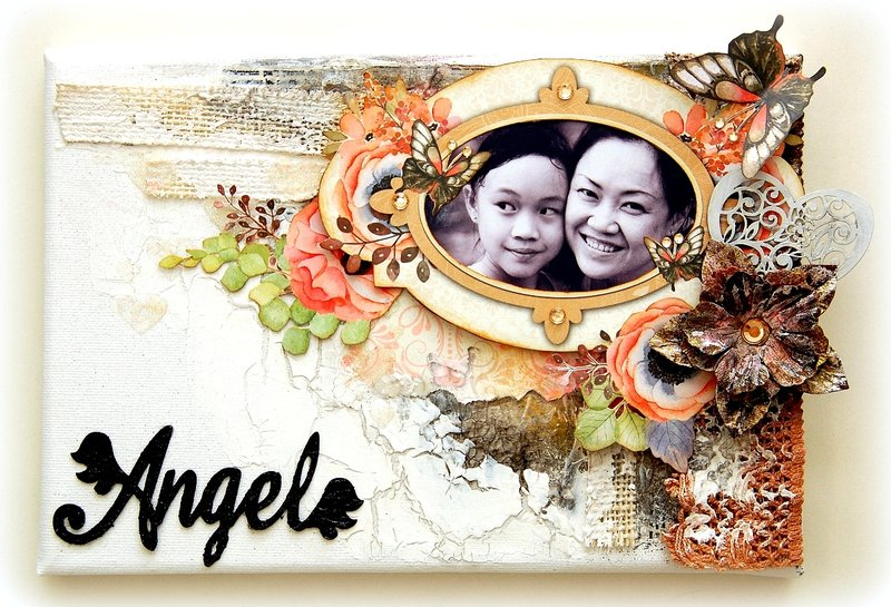 Altered Angel Canvas