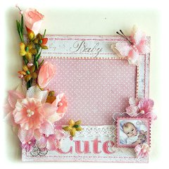 Handmade Cute Baby Frame